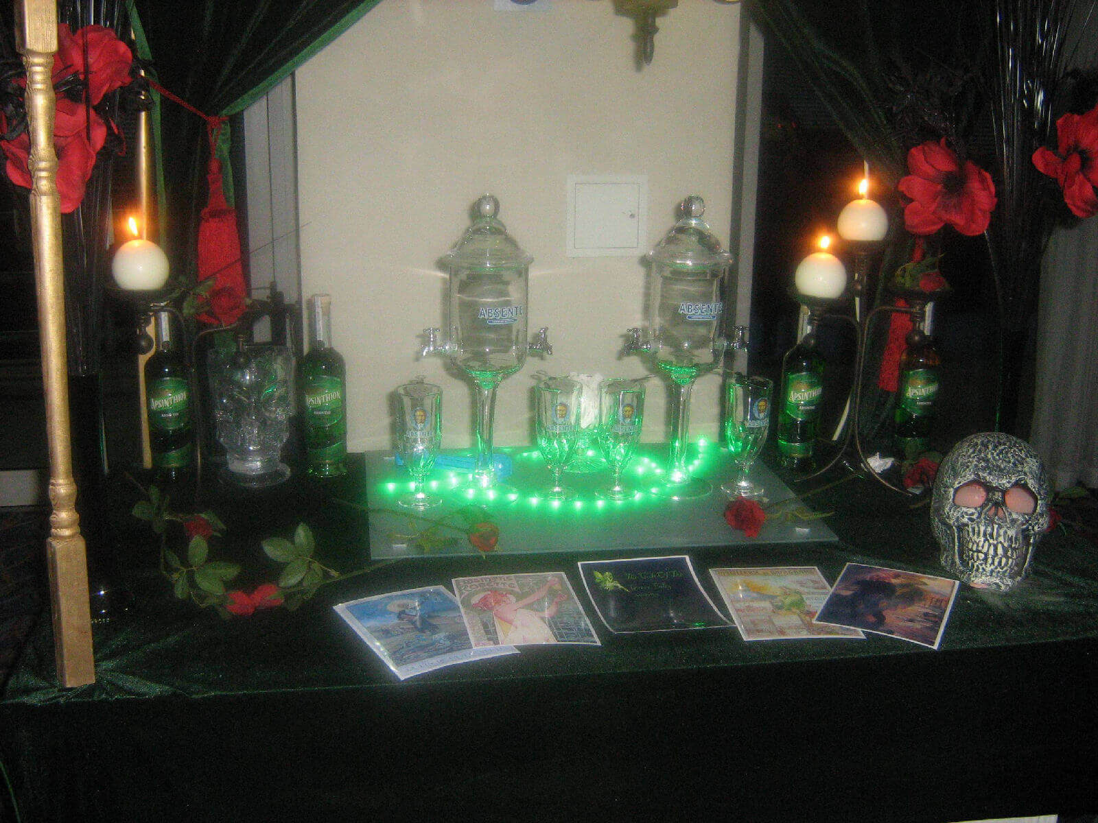 absinthe cart for hire
