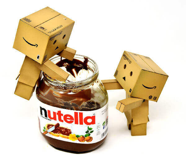 Nutella, delicious topping