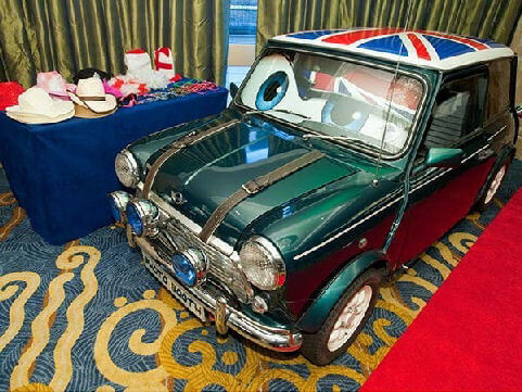 Classic Mini Cooper Photo Booth Hire