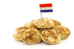 Dutch poffertjes pancakes cart for hire