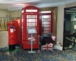 Telephone Photo Booth For Hire