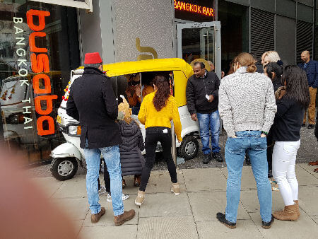 Tuk Tuk Photo Booth For Hire services