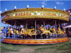 Victorian Carousel For Hire