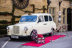 White Taxi Photo Booth Hire