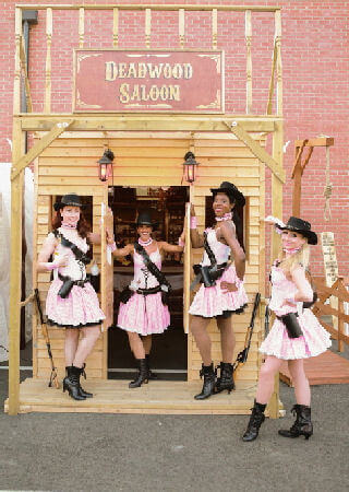 Wild West Shooting Saloon Hire