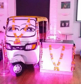 Indian Tuk Tuk Candy Floss Station