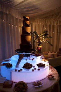 One of our luxury 44 inch chocolate fountains.
