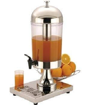 One of our fresh juice dispensers