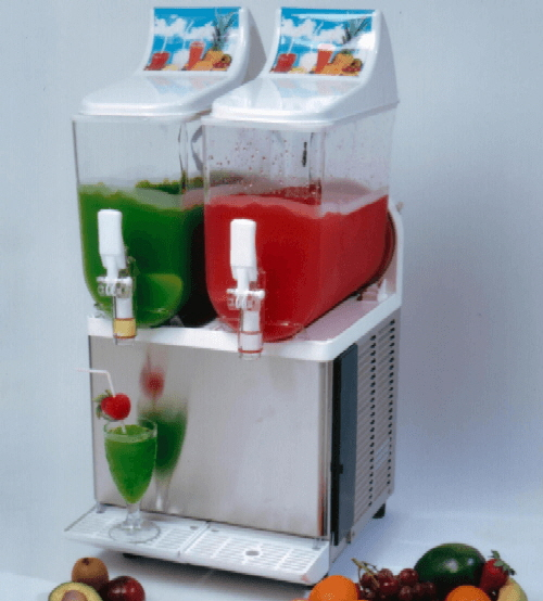 An example of a double frozen cocktail machine
