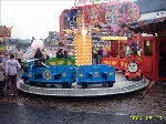 train,, one of our range of children's rides for hire