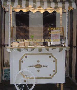 One of our crepe carts