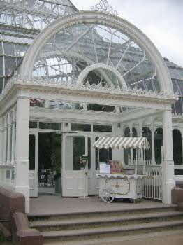One of our carts at the Palm House annivarsary event in Sefton park Liverpool
