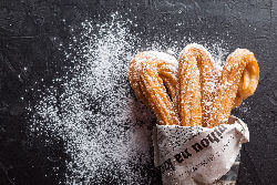 Spanish churros doughnuts for hire