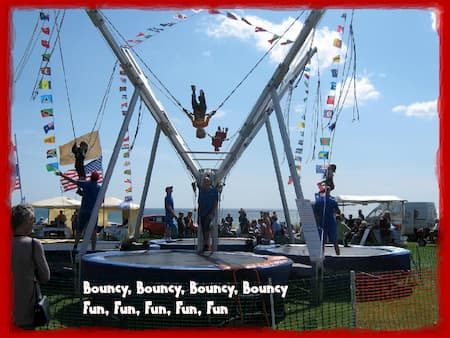 Bungee Trampolines Hire