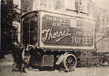Early Thornes Toffee Lorry