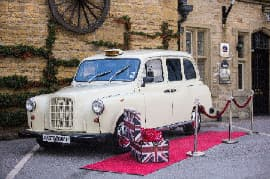 White Taxi Cab Photo Booth For Hire