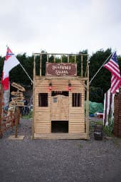 Wild West Themed Shooting Gallery