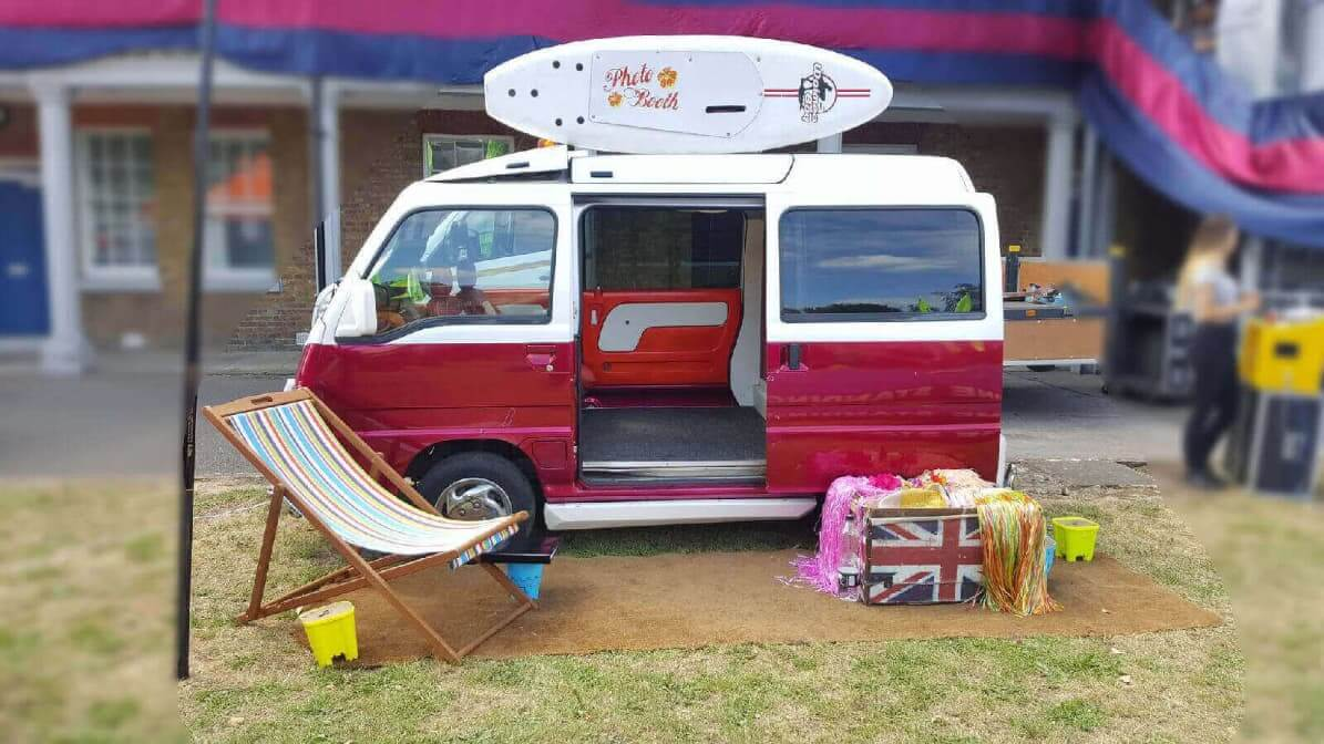 Our Quirky Mini Camper Van With A Photo Booth Built In