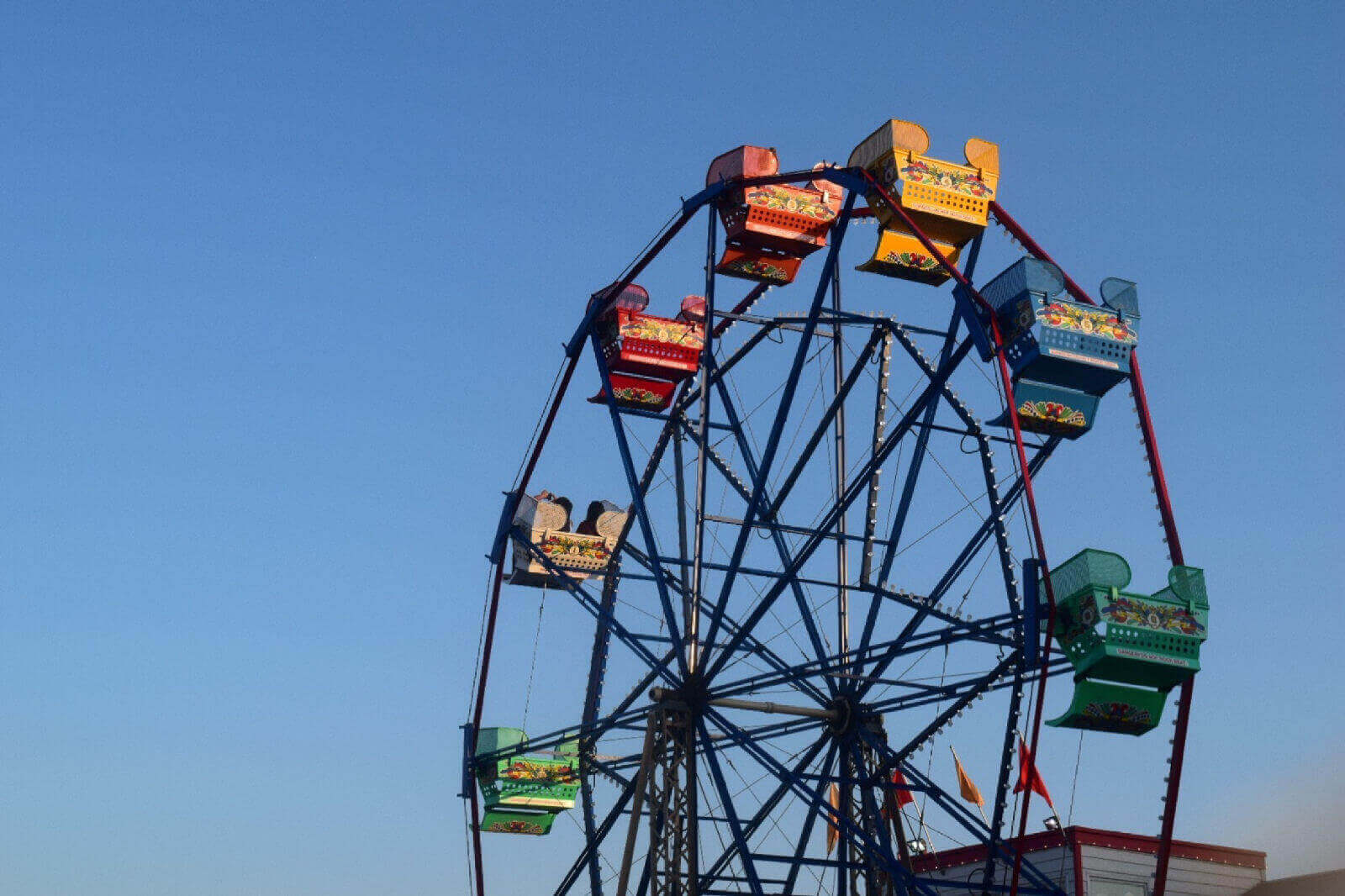 Traditional Funfair Ferris Wheel