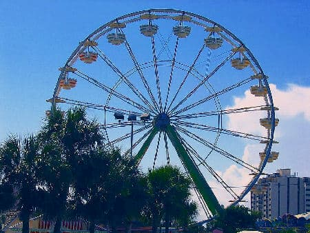 Large Continental Ferris Wheel