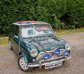 Jasper Our Classic Mini Cooper  Photo Booth System