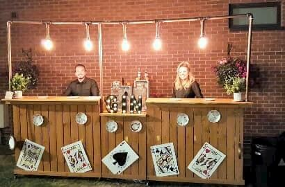 One Of Our Range Of Gin Bars For Hire