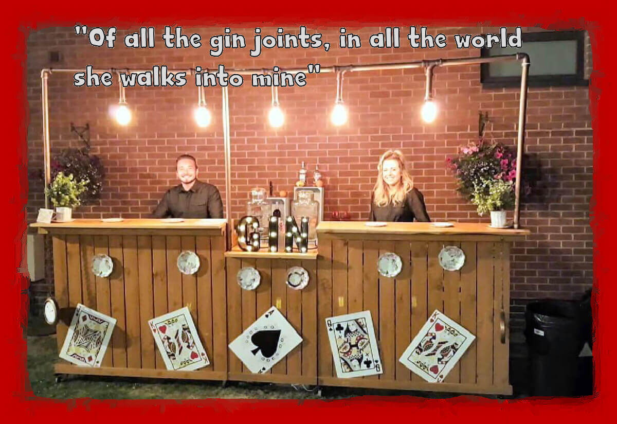 Gin Bar Hire