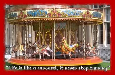Mini Carousel Especially For Kids