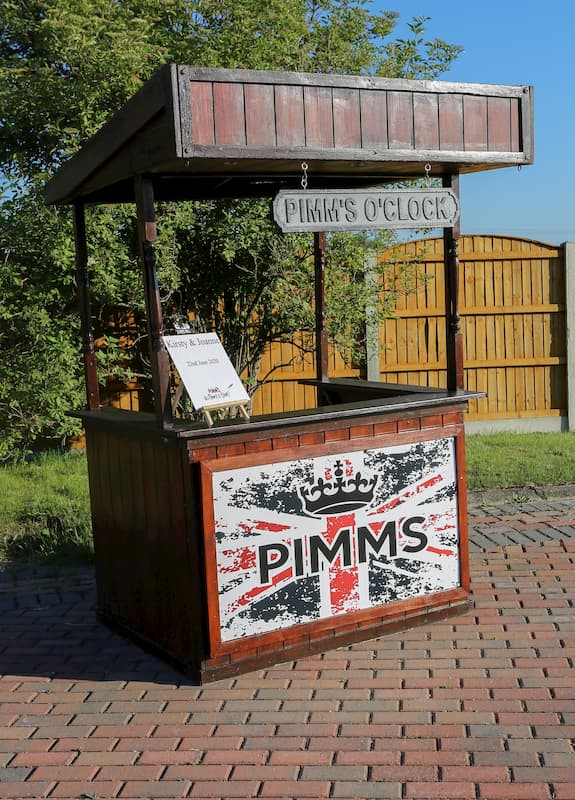 Pimms Themed Cart