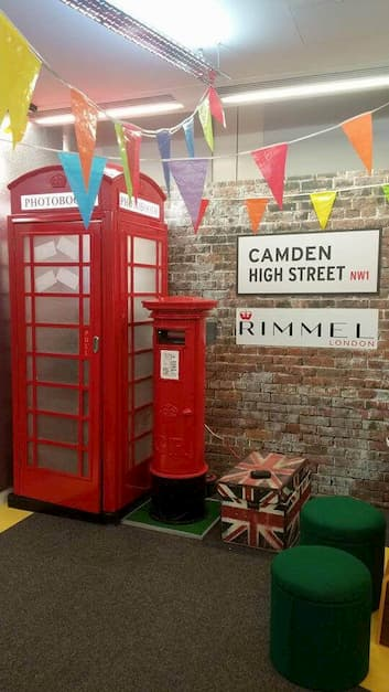 Our Telephone Booth On A Job For Rimmel