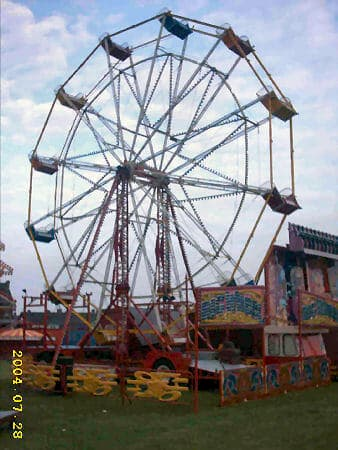 Another View Of A Traditional Ferris Wheel