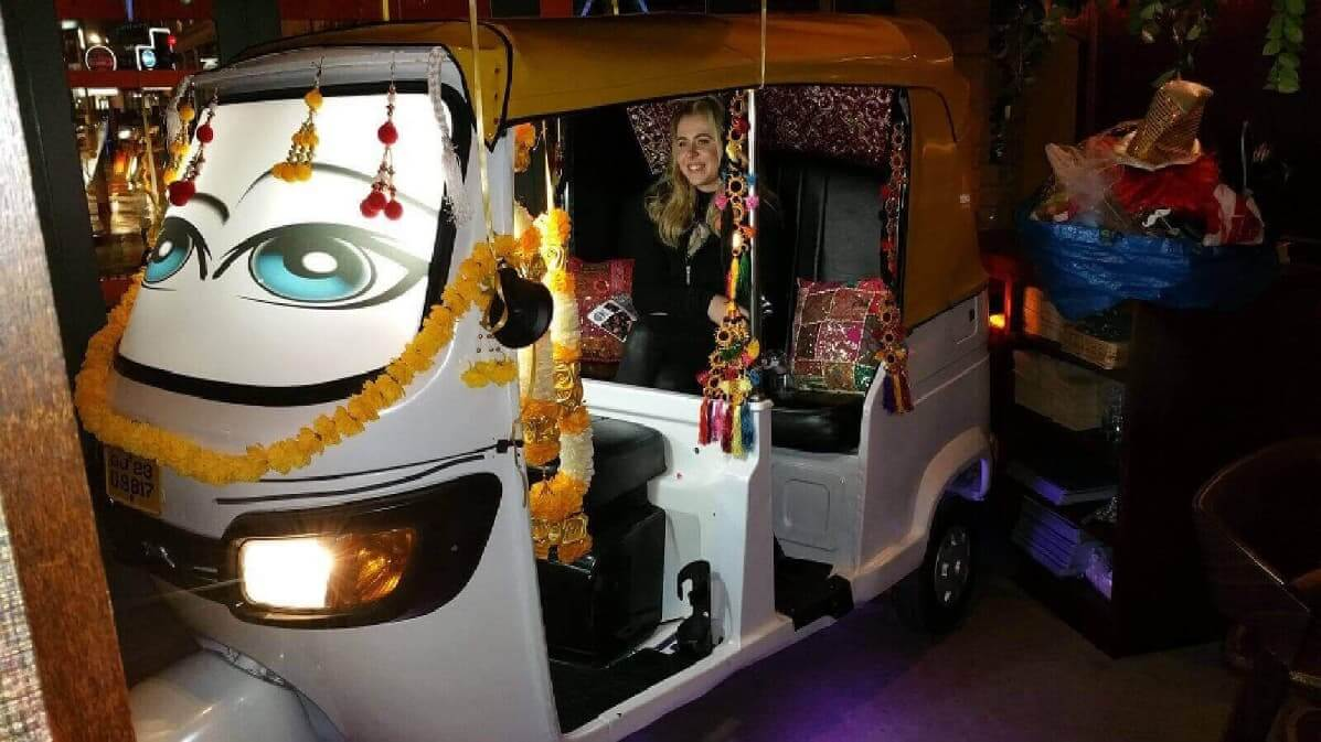 Our Stunning Tuk Tuk Photo Booth