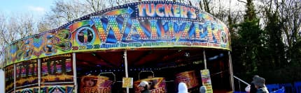 Front Of Our Waltzer Ride