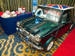 mini cooper photo booth for hire